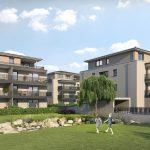 i+R Wohnanlage in Bad Wörishofen mit Renaturierungsprojekt