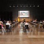 Bodensee-Vorarlberg Tourismus: Jahreshauptversammlung 2021  Die Jahreshauptversammlung 2021 fand am 22. Juni in der Messe Dornbirn statt.  Foto: Roswitha Schneider. Nutzung honorarfrei zur redaktionellen Berichterstattung über Bodensee-Vorarlberg Tourismus. Angabe des Bildnachweises ist Voraussetzung.