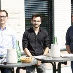 Concrete 3D: Markus Loacker (l.), Michael Gabriel (m.), Philipp Tomaselli (r.)