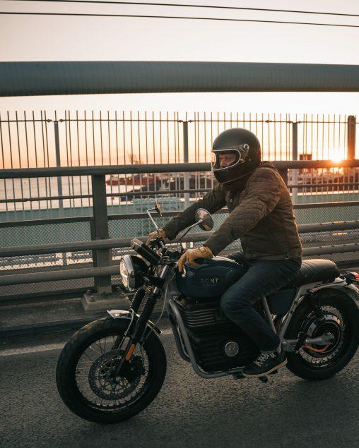 RGNT Motorcycles Scrambler mit Batterien von e.battery systems