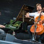 """Vaduz-Classic-Evgeny-Genchev-Luka-Sulic  """"Cello & Piano special performance"""" mit Evgeny Genchev (links) und Luka Sulic (rechts)  Copyright Simone Di Luca. Verwendung honorarfrei zur redaktionellen Berichterstattung über Vaduz Classic. Angabe des Bildnachweises ist Voraussetzung."""