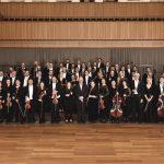 Vaduz-Classic-Sinfonieorchester-Liechtenstein  Das Sinfonieorchester Liechtenstein hat sich seit seiner Gründung im Jahr 1988 zu einem professionellen Klangkörper entwickelt.  Copyright Andreas Domjanic. Verwendung honorarfrei zur redaktionellen Berichterstattung über Vaduz Classic. Angabe des Bildnachweises ist Voraussetzung.
