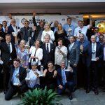 Gewinner des Austrian SDG-Awards vom Senat der Wirtschaft  Die jubelnden Gewinnerinnen und Gewinner bei der Verleihung des Austrian SDG-Awards. Sie wurden vom Senat der Wirtschaft für ihren Einsatz für die Sustainable Development Goals ausgezeichnet.  Foto: Musabeg Magomedov. Nutzung honorarfrei zur redaktionellen Berichterstattung über das Original Magazin. Angabe des Bildnachweises ist Voraussetzung.