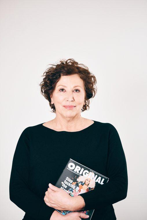 Evi Ruescher, Inhaberin und Herausgeberin ORIGINAL Magazin