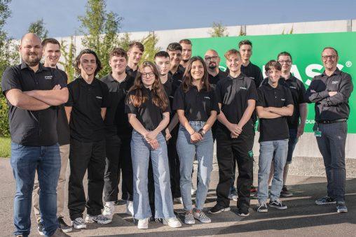 Neue Lehrlinge bei GRASS 2021