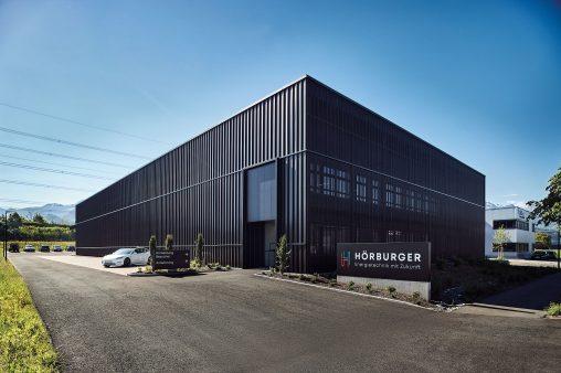 Neue Produktionshalle von Hörburger Energietechnik